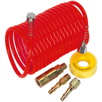 Sealey AHK03 Coiled Air Line Hose Kit