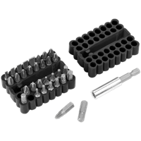 Sealey AK110 Bit and Magnetic Adaptor Set