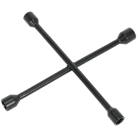 Sealey 4 Way Car Wheel Nut Lug Wrench