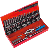 Sealey 32 Piece Tap and Split Die Set Metric