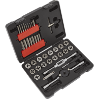 Sealey 39 Piece Tap and Die Set Metric