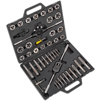 Sealey AK303IMP 45 Piece Tap and Die Set Imperial