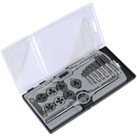 Sealey AK321 17 Piece Tap and Die Set Metric