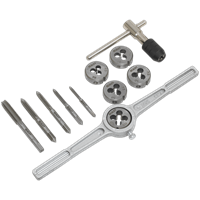 Sealey AK322 12 Piece Tap and Die Set Metric