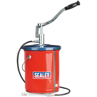 Sealey AK455 Bucket Greaser and Follower Plate 12.5kg Extra Heavy-Duty