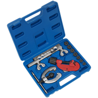 Sealey 10 Piece Pipe Flaring and Cutting Kit