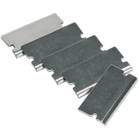 Sealey Angled Razor Blades for AK52507, AK52504 and VS500 Scrapers