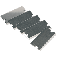 Sealey Thick Razor Blades for AK52507, AK52504 and VS500 Scrapers
