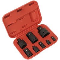 Sealey AK5900B 8 Piece Impact Socket Adaptor Set