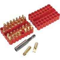 Sealey 33 Piece Security Screwdriver Bit Set
