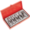 "Sealey 9 Piece 1/2"" Drive Hexagon Socket Bit Set"