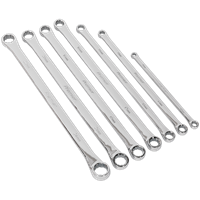 Sealey AK6311 6 Piece Extra Long Deluxe Ring Wrench Set