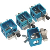 Sealey 4 Piece Sheet Metal Welding Clamp Set