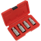 Sealey 4 Piece 1/2 Drive Stud Extractor Set