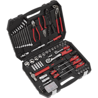 Sealey 100 Piece Mechanics Tool Kit
