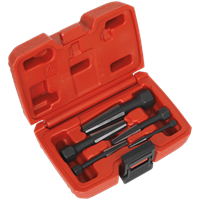 Sealey 5 Piece Double Edge Screw Extractor Set