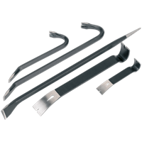 Sealey 5 Piece Pry and Wrecking Bar Set