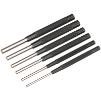 Sealey 6 Piece Parallel Pin Punch Set