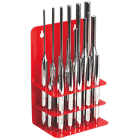 Sealey 19 Piece Pin and Taper Punch Set