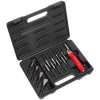 Sealey AK9214 13 Piece Interchangeable Cold Chisel and Punch Set