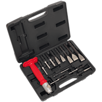 Sealey AK9215 13 Piece Interchangeable Cold Chisel and Punch Set