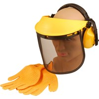 ALM Grass & Hedge Trimmer Safety Helmet