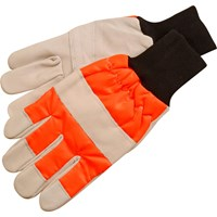 ALM Chainsaw Safety Gloves Left Hand Protection