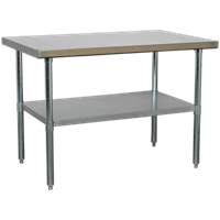 Sealey Stainless Steel Workbench