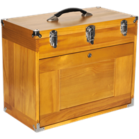 Sealey Machinists Wooden Tool Box