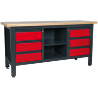Sealey Workstation with 6 Drawers