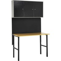 Sealey Foldable Workbench, Pegboard & Tool Cabinets