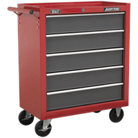 Sealey American Pro 5 Drawer Roller Cabinet