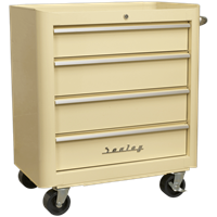 Sealey Retro Style 4 Drawer Roll Cabinet