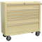 Sealey Premier Retro Style 6 Drawer Wide Roller Cabinet