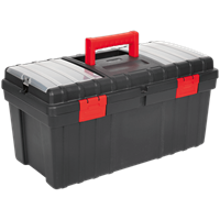 Sealey Plastic Tool Box and Tote Tray
