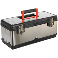 Sealey Stainless Steel Tool Box & Tote Tray