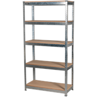 Sealey AP6350GS 5 Shelf Galvanised Racking