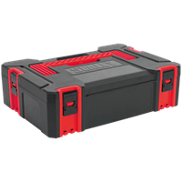 Sealey AP8130 ABS Click and Stackable Power Tool Case Small