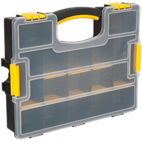 Sealey Stackable 15 Compartment Organiser Case