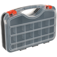 Sealey 42 Compartment Double Sided Organiser Case