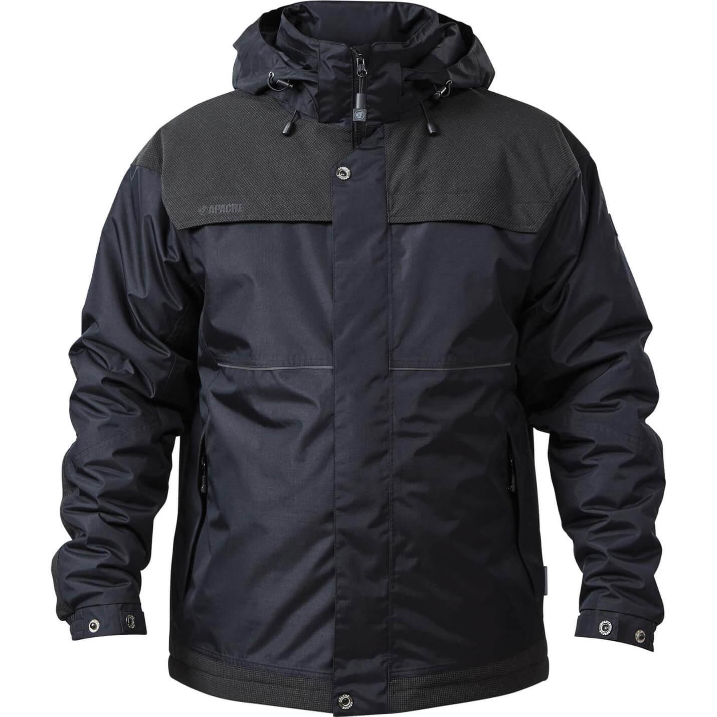 Image of Apache ATS Waterproof Padded Jacket Black M