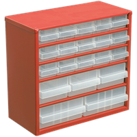Sealey 20 Drawer Cabinet Storage Box