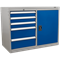 Sealey Premier Industrial Cabinet and Locker 5 Drawer