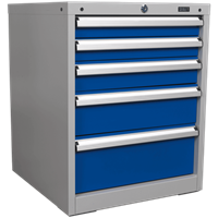 Sealey Premier Industrial Workstation Cabinet 5 Drawer