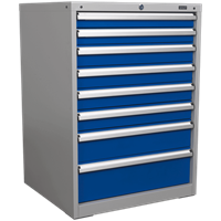 Sealey Premier Industrial Workstation Cabinet 8 Drawer