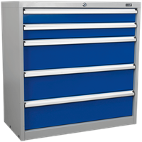 Sealey Premier Industrial Cabinet 5 Drawer