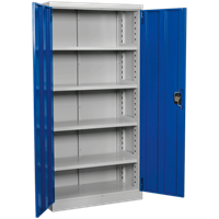 Sealey Premier Industrial Shelving Cabinet 4 Shelf