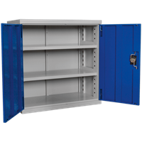 Sealey Premier Industrial Shelving Cabinet 3 Shelf
