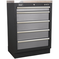 Sealey Superline Pro Modular Cabinet 5 Drawer MSS System