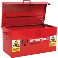 Armorgard Flambank Chemical and Flammables Secure Van Storage Box